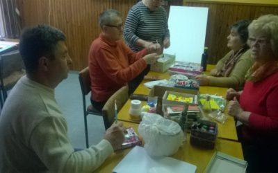 Udruga invalida rada i ostalih osi Virovitica organizirala kreativne radionice za njene članove i ostale osobe starije životne dobi